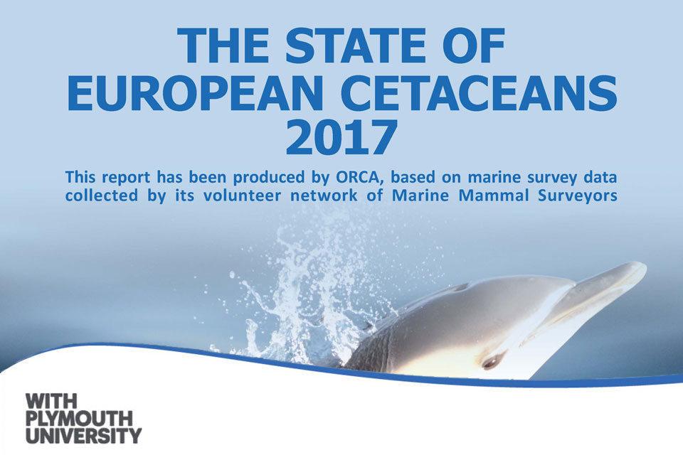 The State of European Cetaceans report 2017
