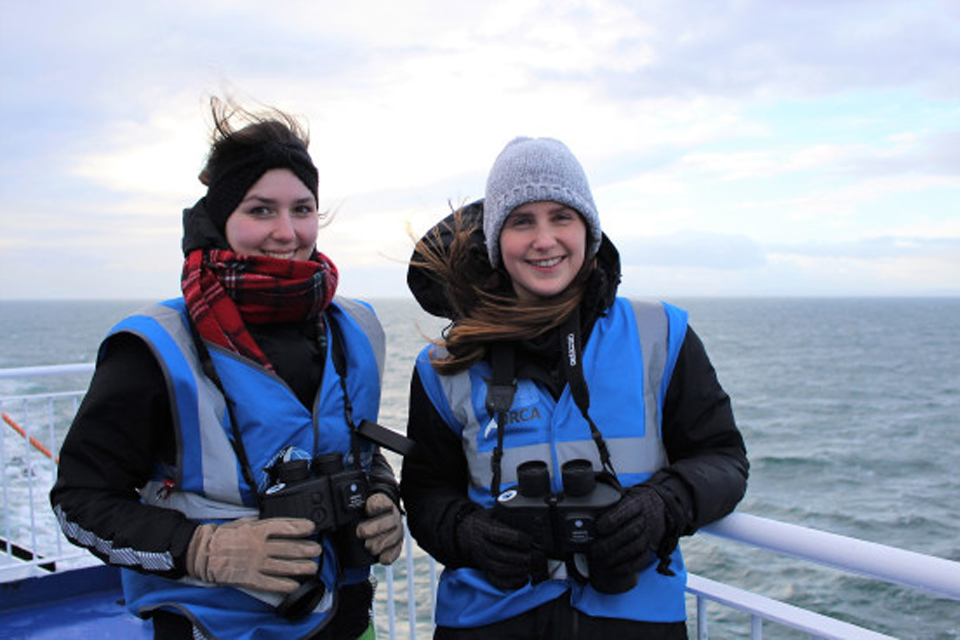 Wildlife Officer season kicks off in the North Sea